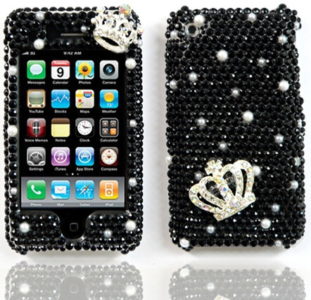 black doted queen | by .,. Fashion my phone .,. Qatar