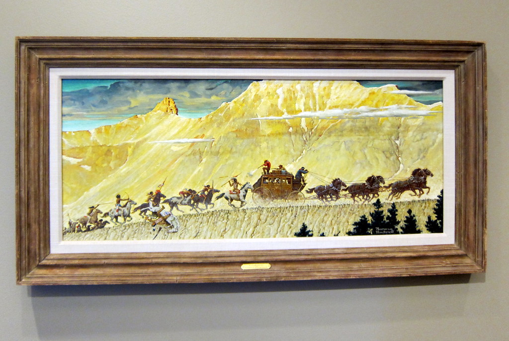 Denver Civic Center Denver Art Museum Norman Rockwell