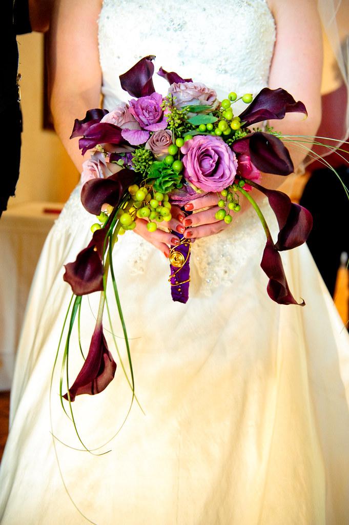 Crescent shaped bridal bouquet bridal bouquet in for Crescent bouquet