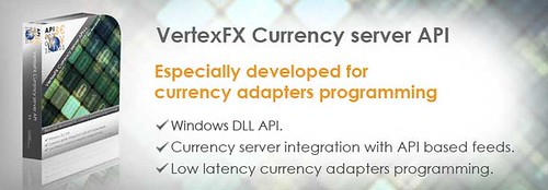 VertexFX API currency server banner | by Hybrid Solutions