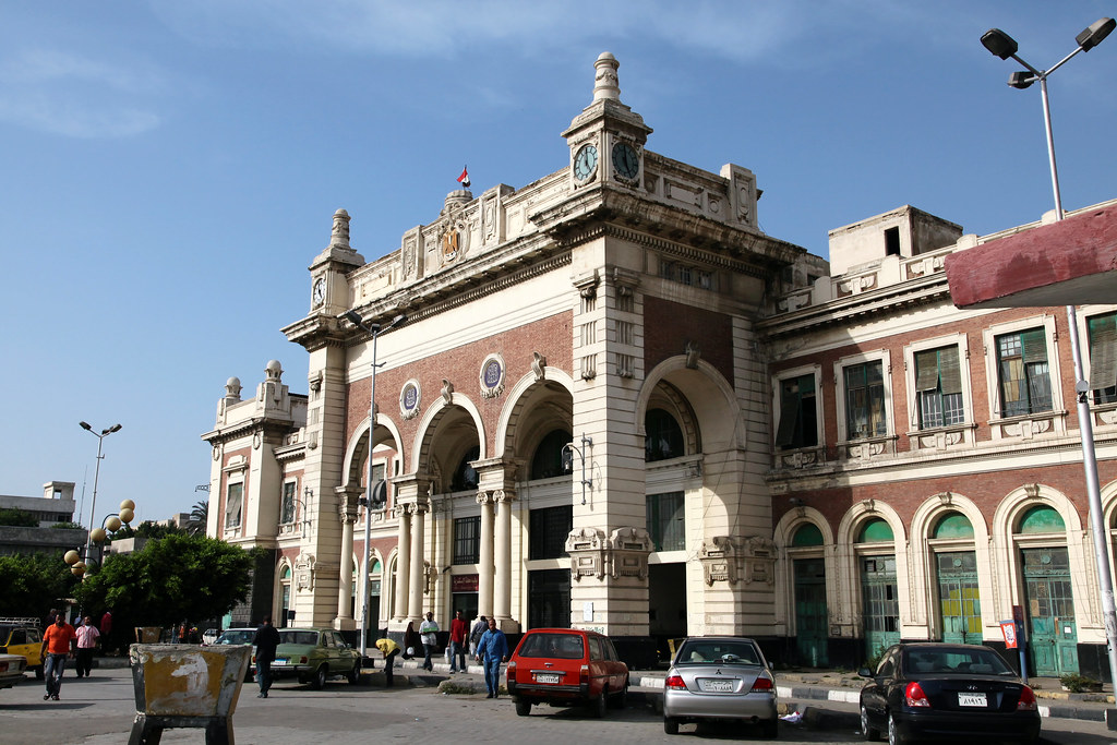 alexandria misr train station  egypt  u30a8 u30b8 u30d7 u30c8 u3001 u30a2 u30ec u30ad u30b5 u30f3 u30c9 u30ea u30a2 u9244 u9053 u99c5 flickr lighthouse of alexandria today lighthouse of alexandria today