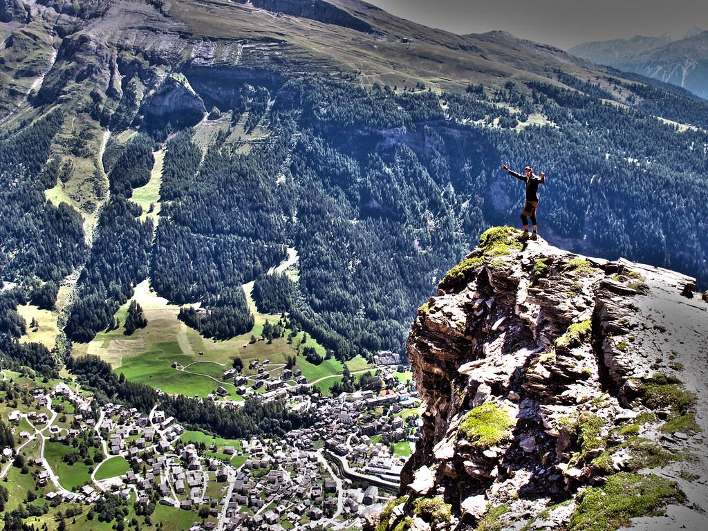 Klettersteig Leukerbad : Fotogalerie tourfotos fotos zur klettersteig tour