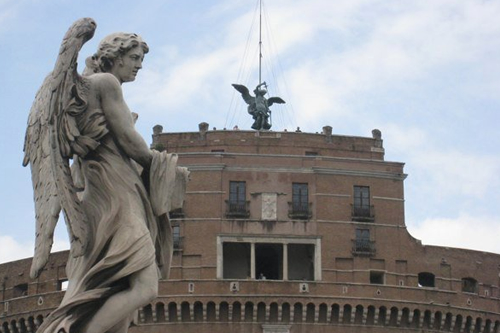 Castel Sant'Angelo – from which Tosca leaps to her death © ROH 2011 | by Royal Opera House Covent Garden