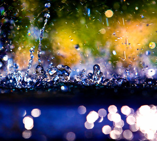 Water Fountain Bokeh | by Mark Chandler Photography