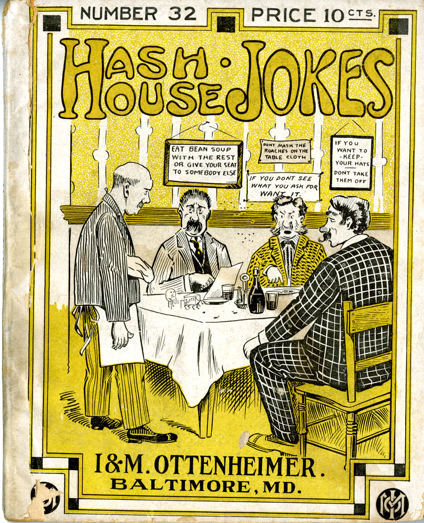 Hash House Jokes Old Fashioned Jokes Guaranteed To Offer