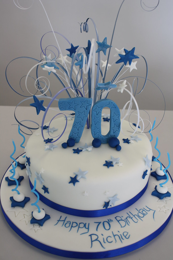 Cake 70th Birthday 6 Inch Sponge Cake 163 38 8 Inch 163