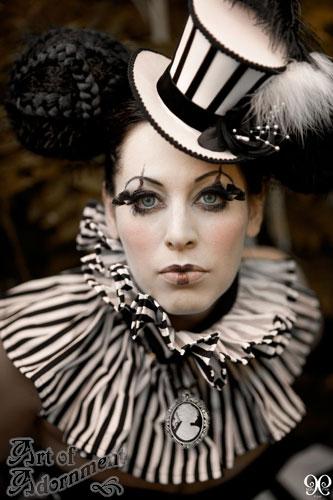 Antique Circus - Harlequin | Photographer: Nina Pak Model ...