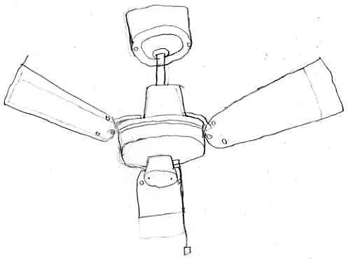 Ceiling Fan Drawing Fanmaster911 Flickr