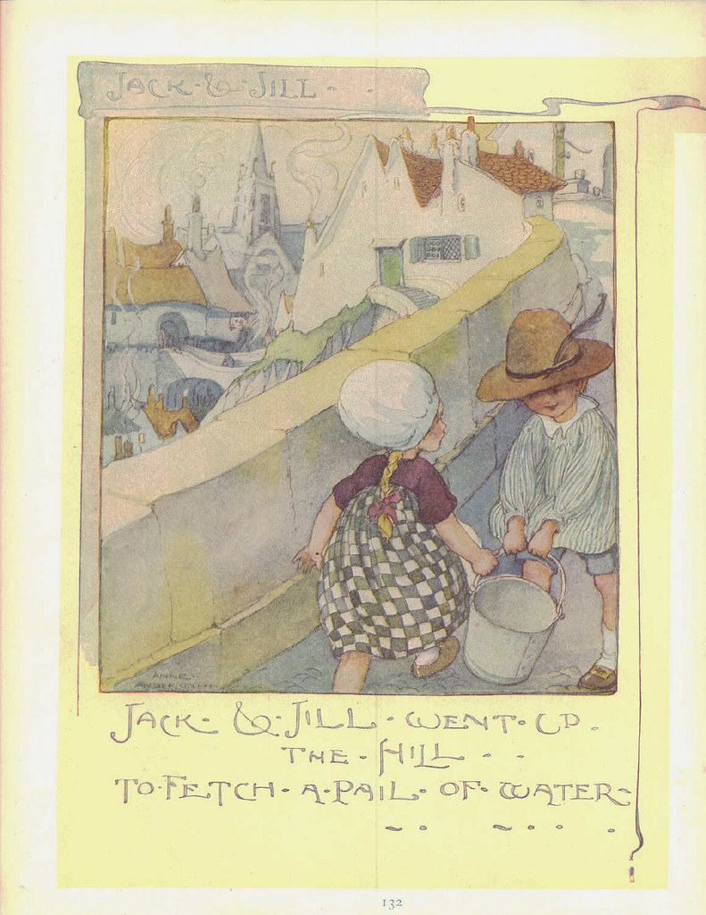 the childhood premise shown in the mother goose nursery rhyme The figure of mother goose is the imaginary author of a collection of fairy tales  and nursery rhymes often published as old mother goose's rhymes, as  illustrated by arthur rackham in 1913 as a character, she appears in one  nursery rhyme  illustrated by mabel betsy hill (1915) the space child's  mother goose by.