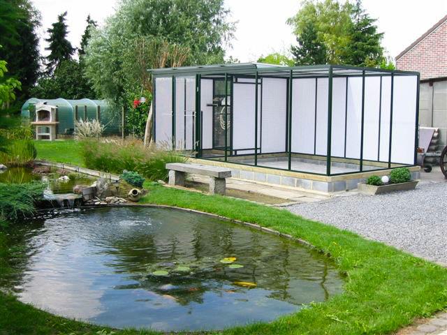 Mooie voliere in mooie tuin volierebouw nederland flickr