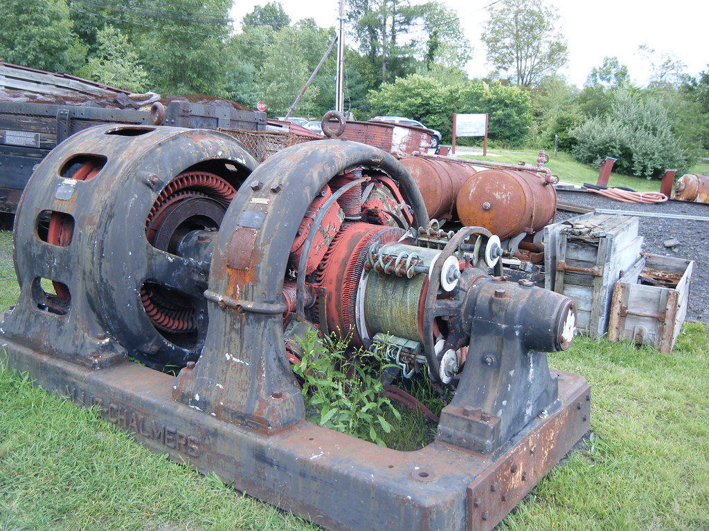 Omg old allis chalmers electric motor old allis for Allis chalmers electric motor