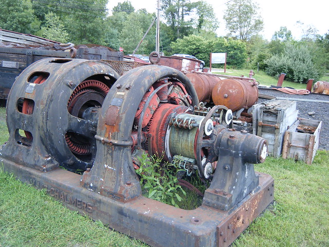 omg old allis chalmers electric motor flickr photo