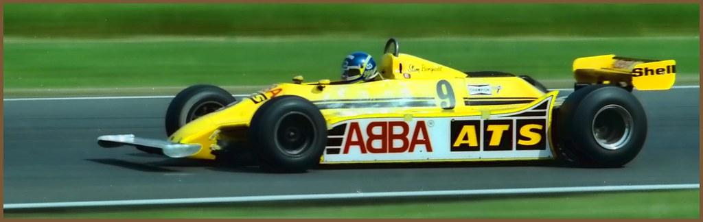 Slim Borgudd ATS Ford HGS1 F1....