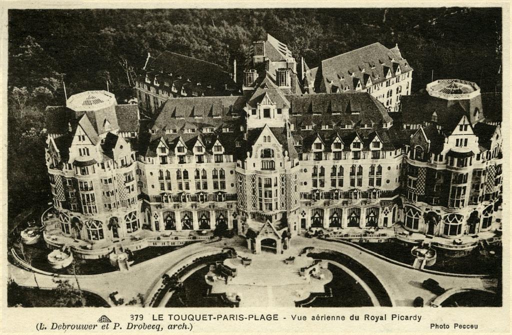 Hotel Royal Picardy Le Touquet Paris Plage Architect L