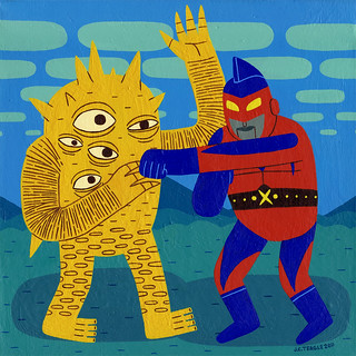 Eyezon Versus Captain Maxx | by Jack Teagle