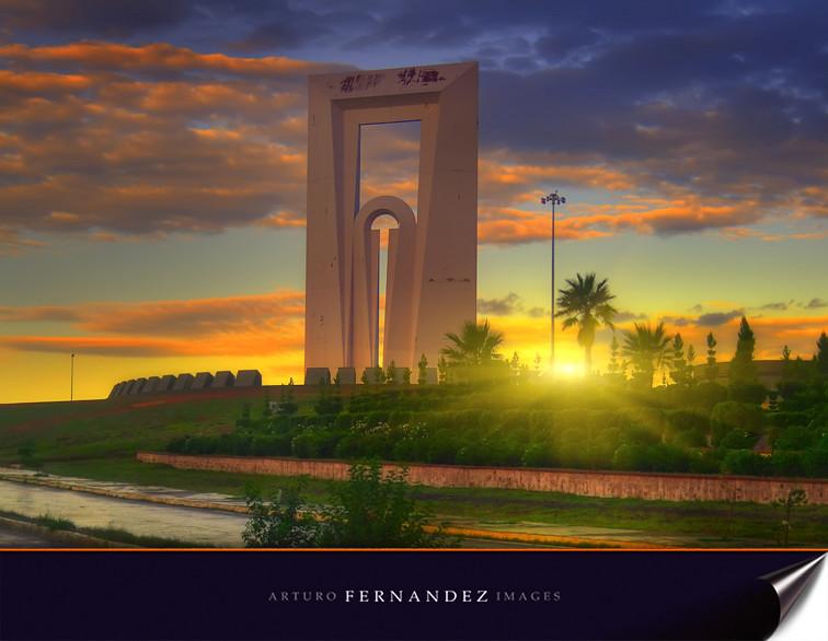 Puerta del sol chihuahua esta imagen es una version de Obras puerta del sol