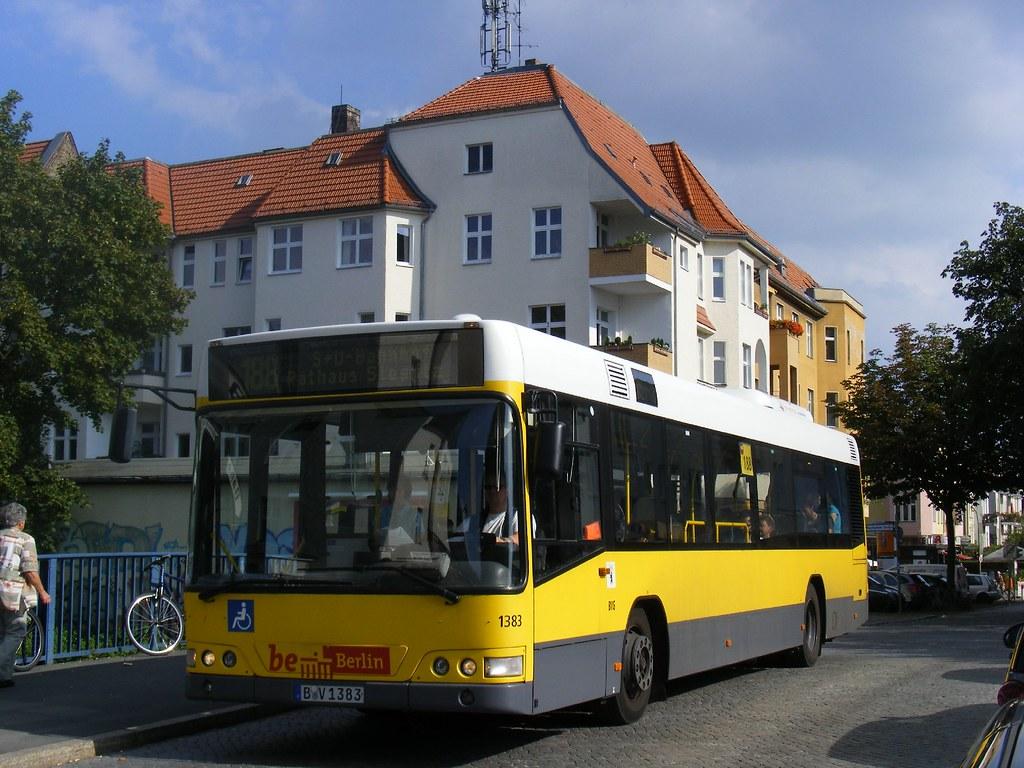 BVG Berlin bus B-V 1383, Linie 188, S-Bf Botanischer Garte… | Flickr