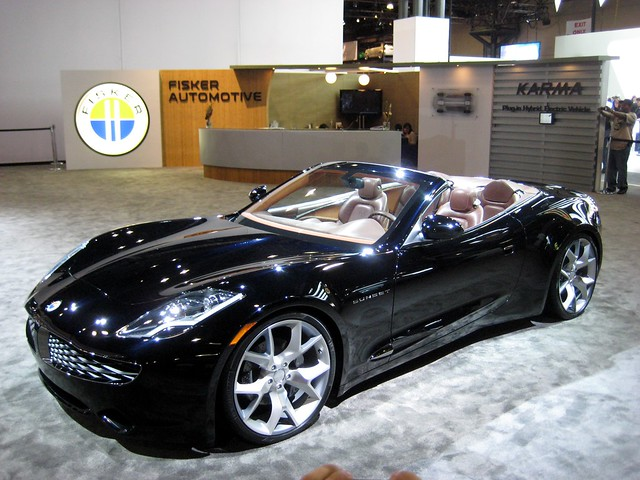 Fisker Karma Sunset Convertible Autos Post