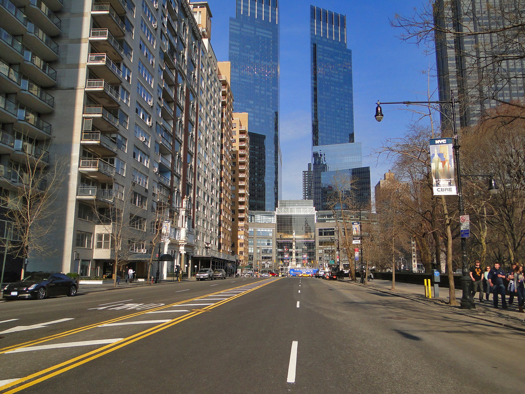 Empty new york street copyright c 2011 richard tanner t