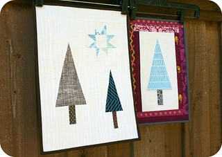 Sugar Plum Forest Mini Quilts | by QuiltsByEmily