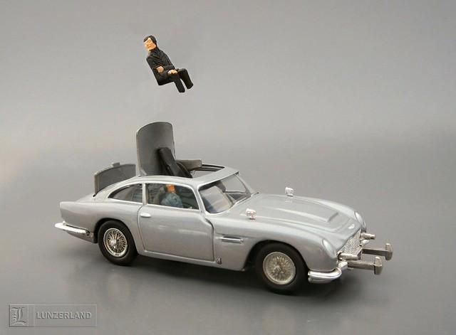 James bond aston martin diecast cars