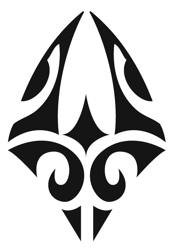 Maori Symbol Symbol Created For A Maori Tattoo The Upper Flickr