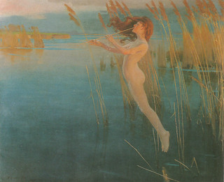 "Alexander Mann (1853 - 1908), ""The Long Cry of the Reeds at Even"", 1896 