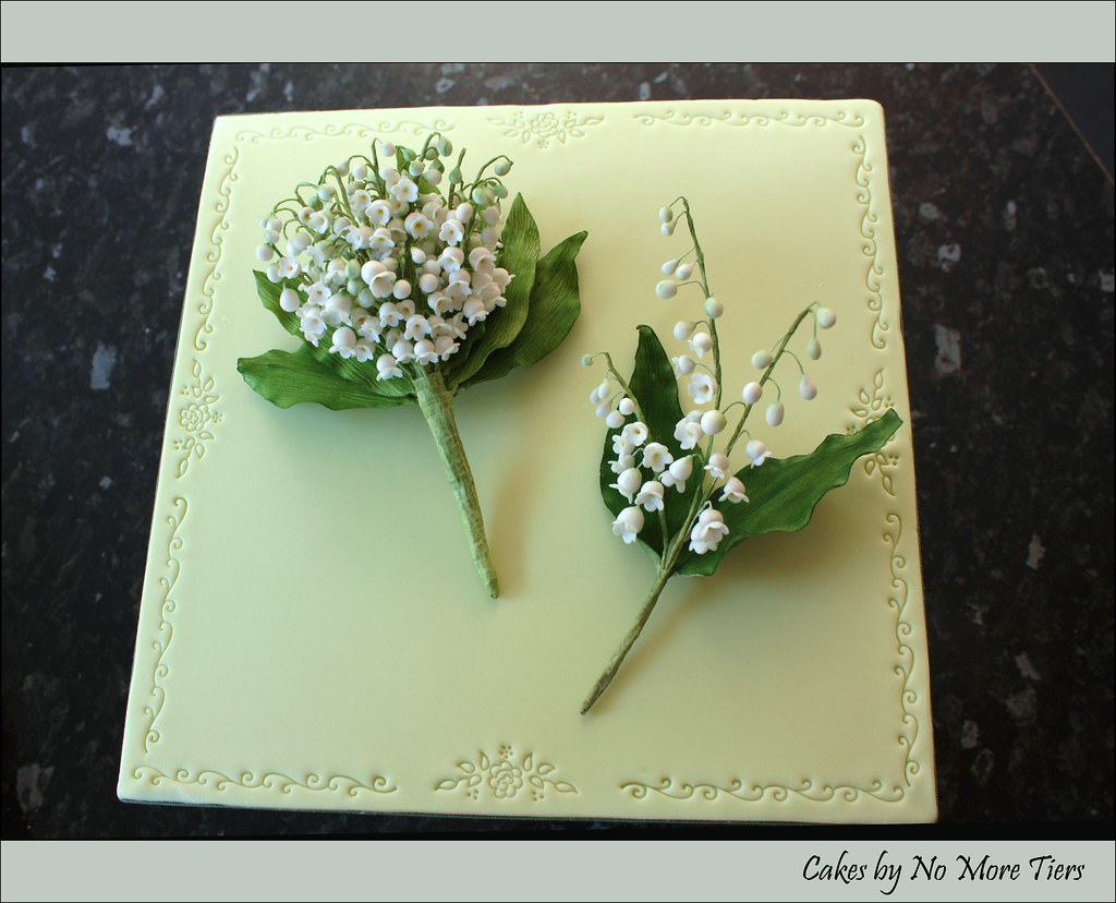 Lily Of The Valley Corsage And Buttonhole Sugar My Other Flickr
