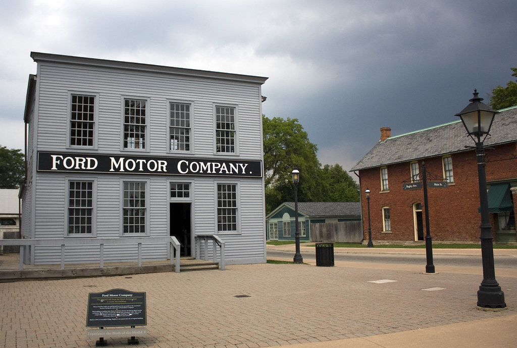 Henry Ford S First Factory Replica Smaller Than Origi