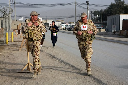 2011JAN: Camp Baker, Kandahar, Afghanistan.