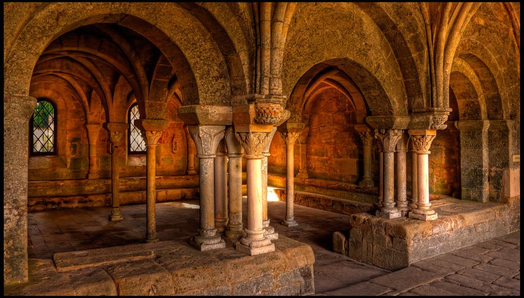sala capitular de fontfroide sala capitular de la abad a