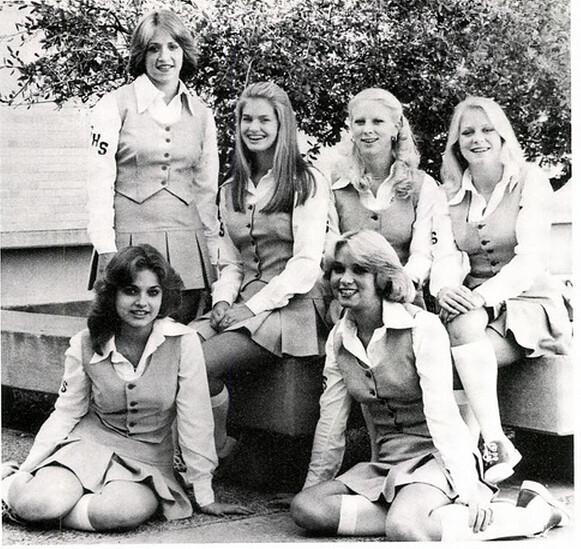 FortWorthsouthwestHighSchool1978Cheerleaders