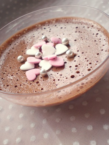 chocolate mousse ♥ | by matildeamaral
