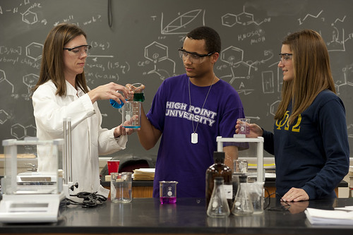 High Point University | Chemistry Students | by HIGH POINT UNIVERSITY