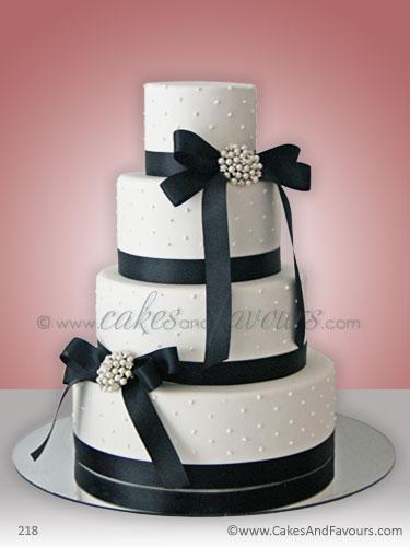 Wedding cake image 218 black and white wedding cake el flickr - Black and wait ...