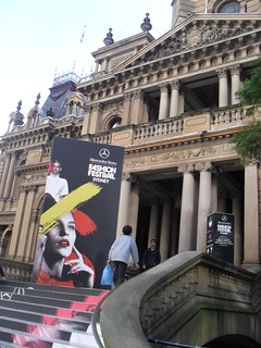 The venue for Sydney's Mercedes Benz Fashion Festival, Town Hall. | by frock_and_roll