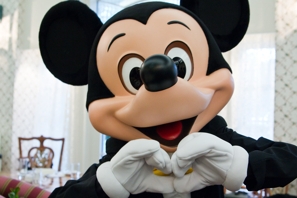 Mickey Mouse Hotel Paris