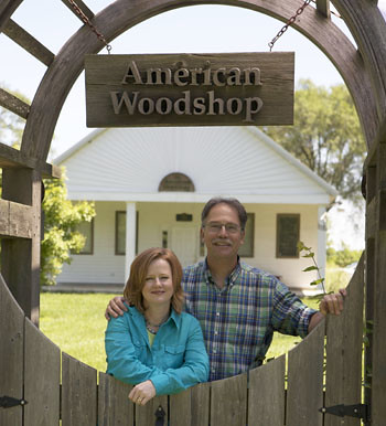 Scott & Suzy Phillips, The American Woodshop Woodcraft