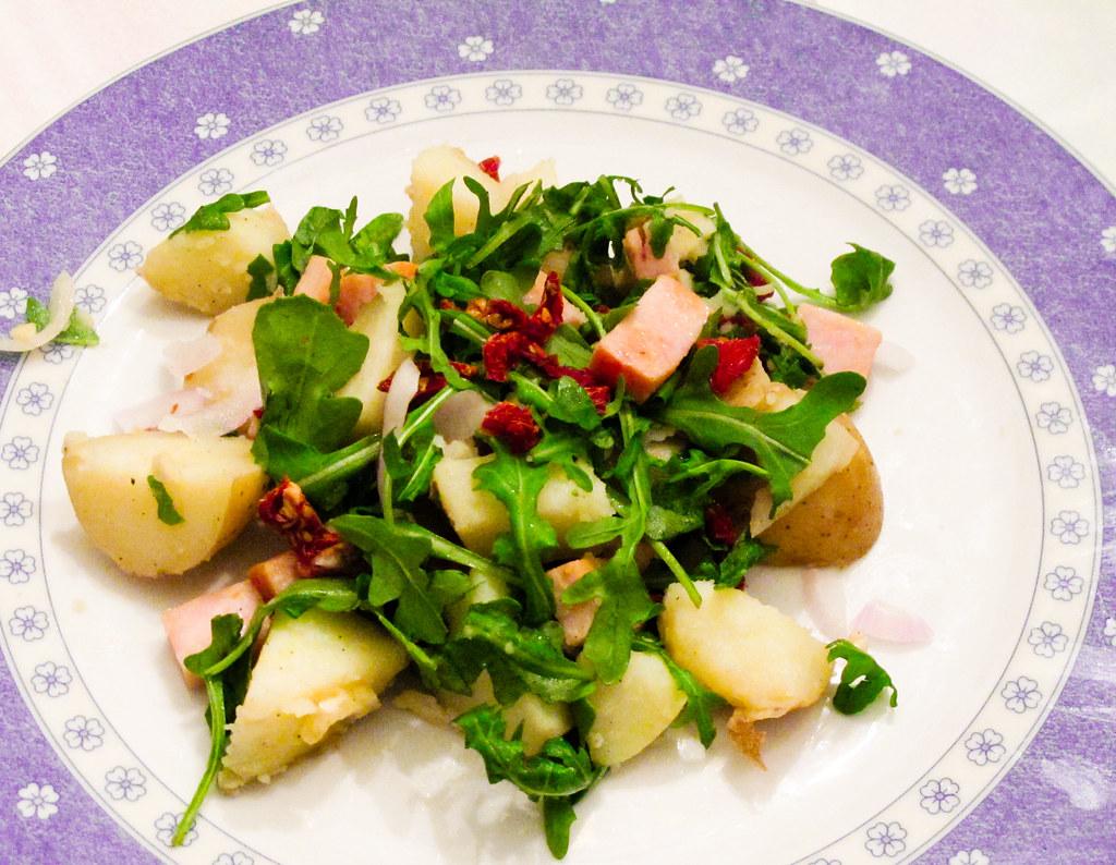Ensalada francesa de patatas con pavo y tomates secos flickr for Ensalada francesa