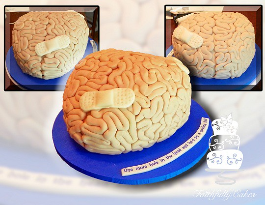 Brain Recovery Cake Recovery Birthday Cake For Someone