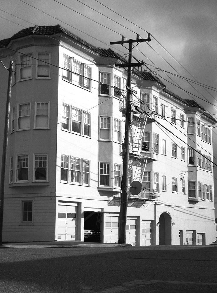 Richmond district San Francisco Anza Street