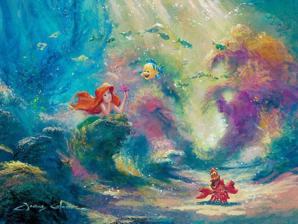 Art Disney: DISNEY FINE ART BY JAMES COLEMAN