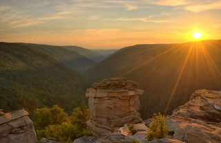 Sundown at Lindy Point - Blackwater Falls State Park, W.Va. | by VonShawn