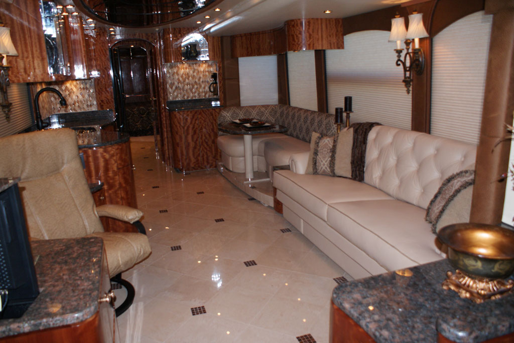 Millennium Luxury Coaches Custom RV Interiors | New & Pre ...