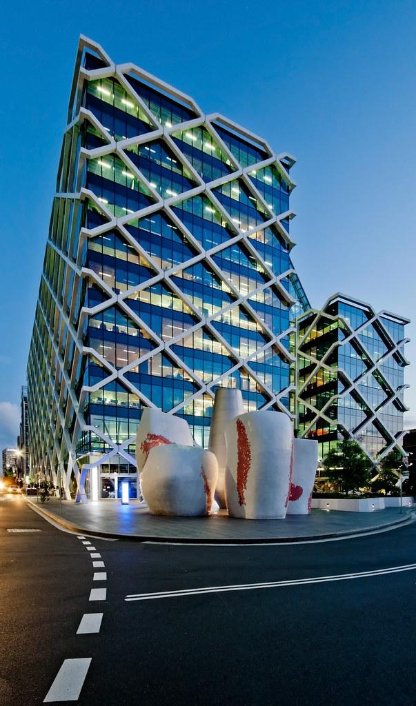 Macquarie Bank Building No 1 Shelley St Sydney Peter