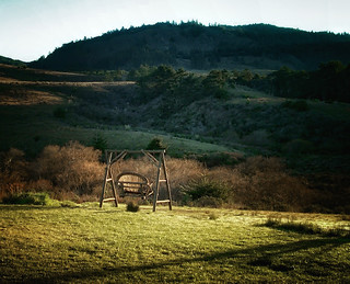 Sunrise Swing at Costanoa - 2002 | by SJL
