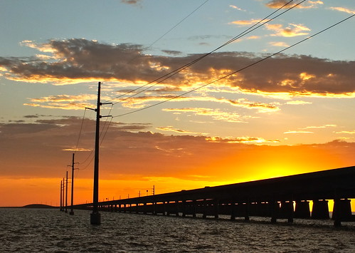 7 Mile Bridge Sunset | by Key West Wedding Photography