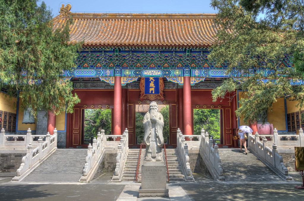 Confucius Temple in Beijing | This temple was an important ...