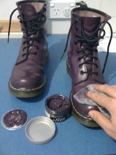 White Shoe Cream