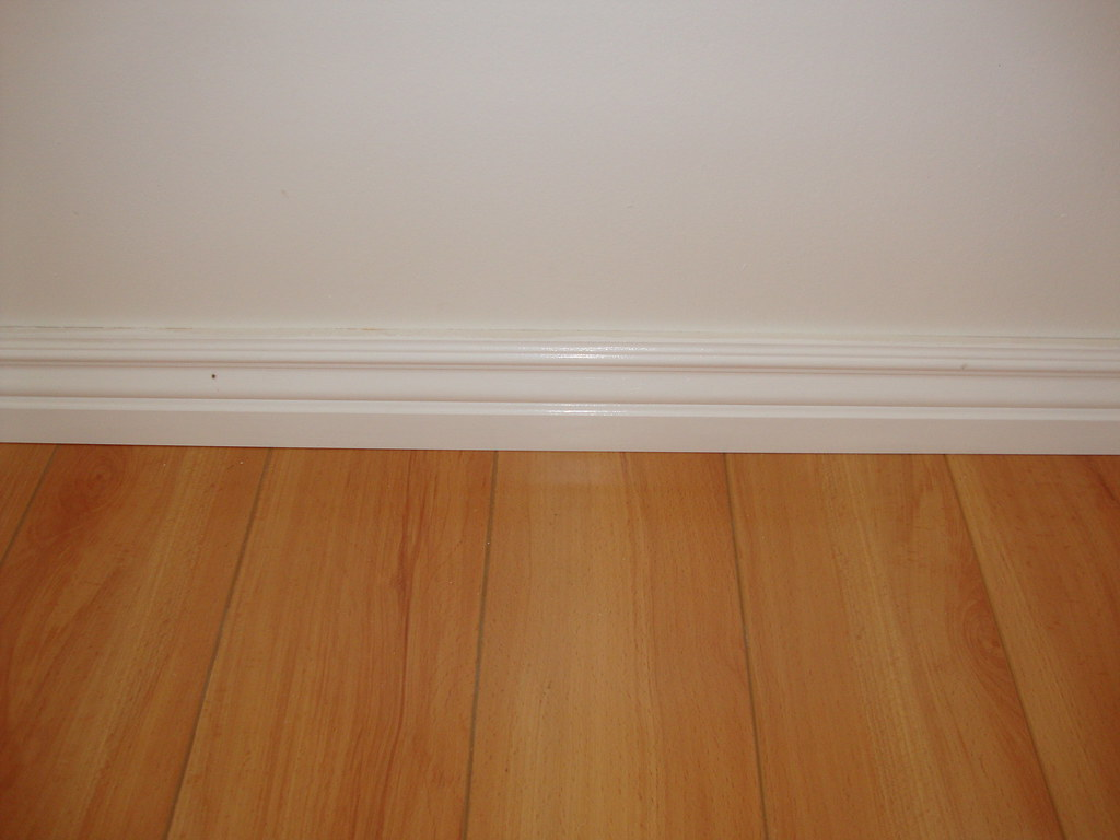 basement corner floor baseboard height inside bathroom homebase trim base tile installing cove